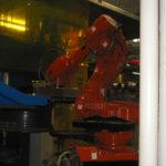 ABB robot i hjulproduktion