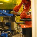 ABB robot i fælgproduktion
