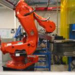 ABB robot flytter fælge
