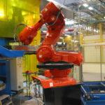 robot med værktøj