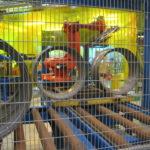 robot håndterer hjul