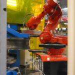 ABB robot flytter hjul