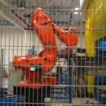 ABB robot bag afskærmning