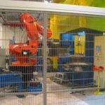 Robot bag afskærmning